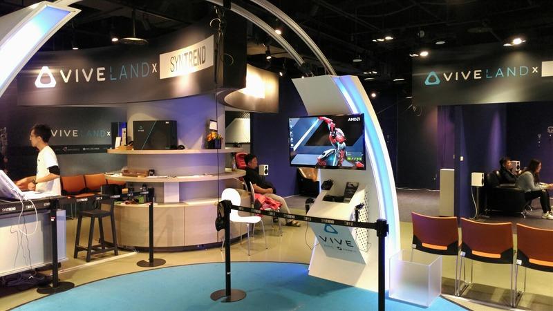 【VR】台湾のVR体験コーナーに来てみたwwwwのサムネイル画像