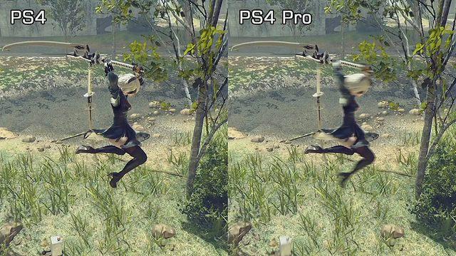 【PS4PRO】PS4とPS4PRO、めっちゃ差が出る模様wwwwのサムネイル画像
