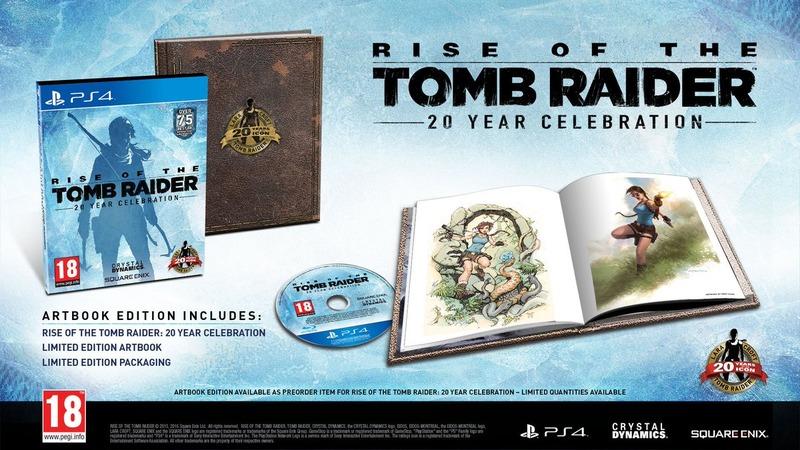 【朗報】PS4版「Rise of the Tomb Raider」正式発表!全DLCとPSVR用ミッション入りの完全版!!のサムネイル画像