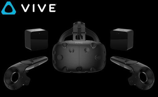 【朗報】HTC製VRヘッドマウントディスプレイ「Vive」の国内販売開始キタ━━(゚∀゚)━━!!のサムネイル画像