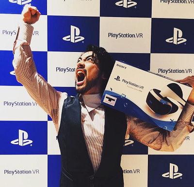 【画像】山田孝之が『PlayStation VR』を体験!「ゲーム実況じゃわからない、遊んで欲しい」のサムネイル画像