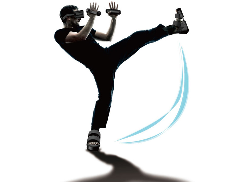 【VR】「世界初」触感センサー搭載VRシューズ&グローブ発表!振動で触感を再現!のサムネイル画像