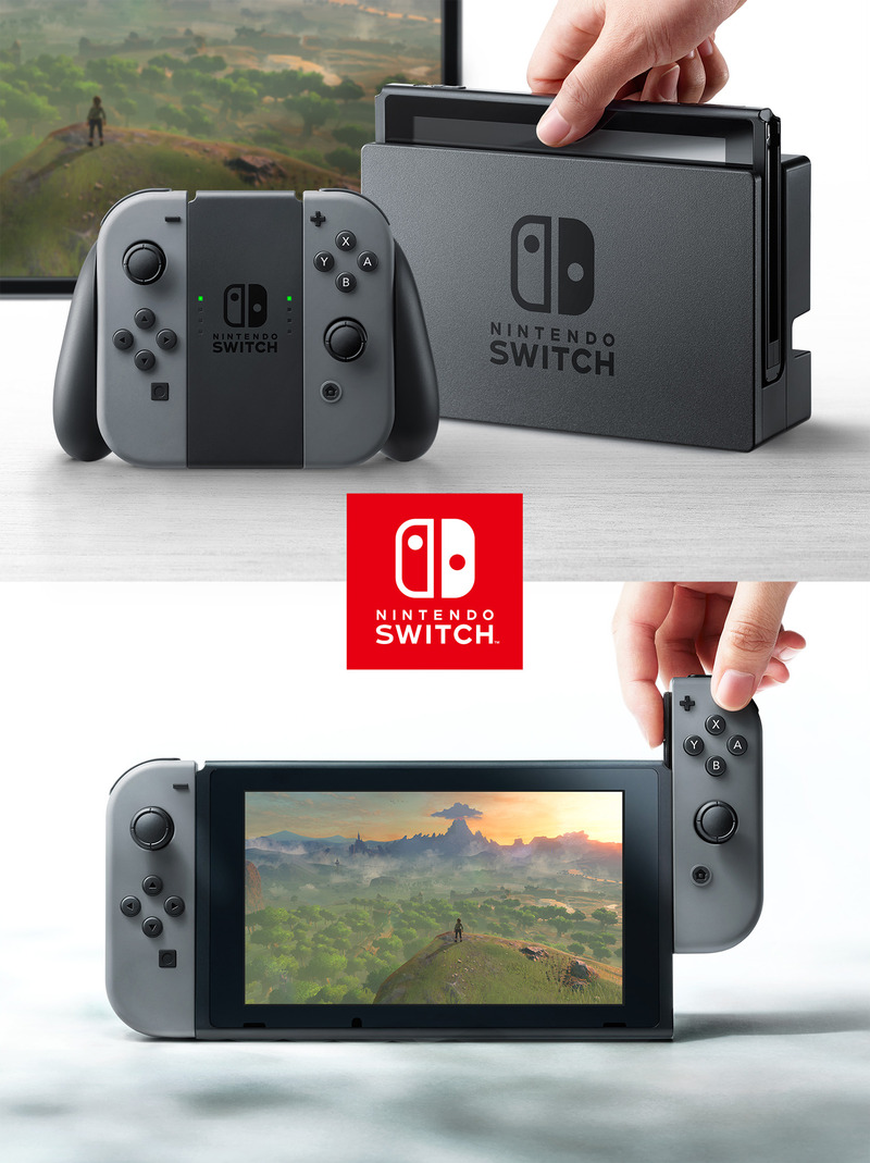 【衝撃】任天堂switchの全仕様がガチリーク!VR対応が判明!のサムネイル画像