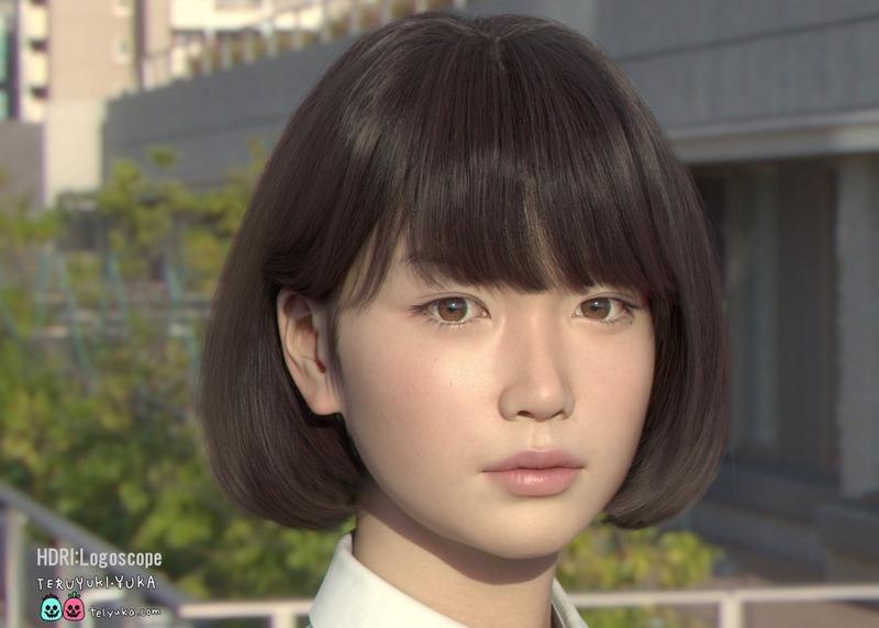 【画像】「不気味の谷」を超えた完全に実写の美人3DCG女子高生SayaちゃんがついにVR動画に!!のサムネイル画像
