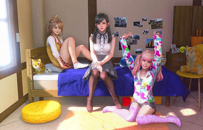 【PSVR】『しあわせ荘の管理人さん。』女の子のマイナーチェンジの秘密を開発者が明かす!のサムネイル画像