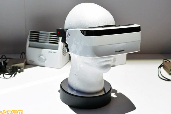 【VR】パナソニックがVRヘッドマウントディスプレイ試作機を作成!視野角220度を実現!のサムネイル画像
