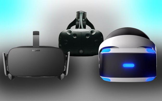 【VR】HTCvive vs オキュラス vs PSVR ってどれがいい??のサムネイル画像