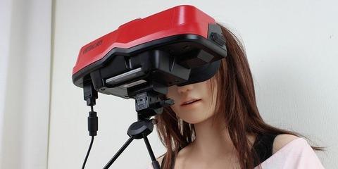 【速報】 任天堂、VR対応ゲーム開発キタ━━━━━━(゚∀゚)━━━━━━!!!!!のサムネイル画像