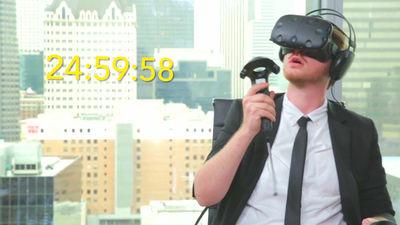 【動画あり】VRヘッドセットを25時間連続でプレイするというギネス世界記録への挑戦が行われた結果!のサムネイル画像