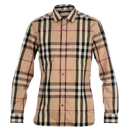 【悲報】ワイ、バーバリーのチェックシャツ(5万円)をオタクシャツと言われガチギレ
