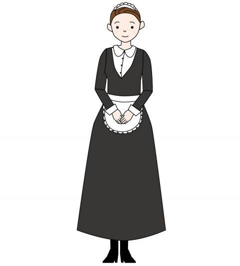 【朗報】ワイメイド長、メイドの服装はロングスカートで肌の露出は極力避ける規則を発令