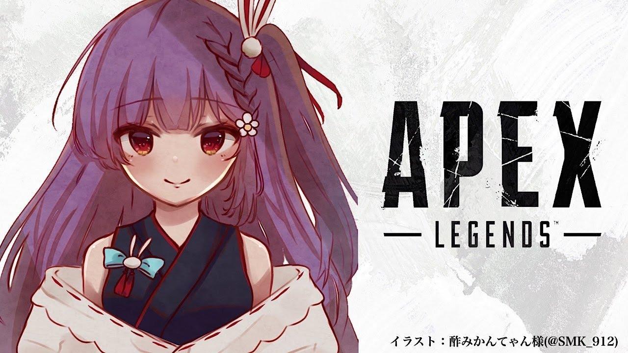 【APEX】カジュアル 1人ぼっち 孤独な女がプレイ