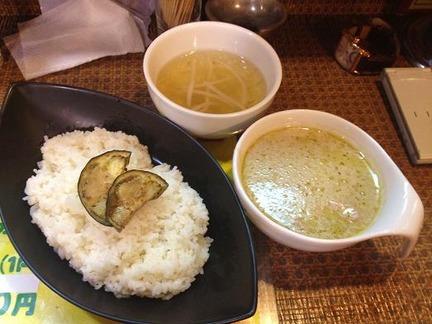 タイ食堂みうら屋【カレー】