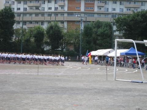 若葉台中学体育祭 (6)