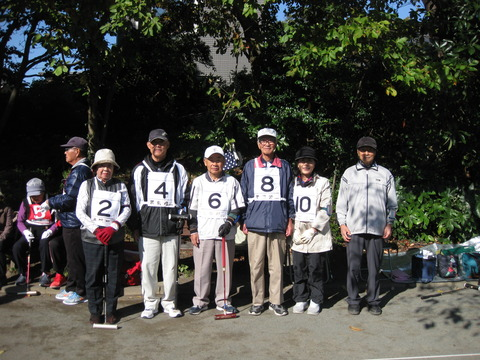 ゲートボール大会 (15)