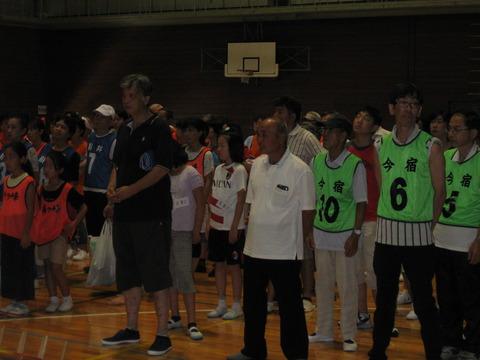 輪投げ旭区大会-開会式 (2)