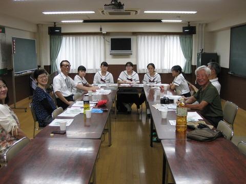 横浜富士見丘学園校外学習 (1)