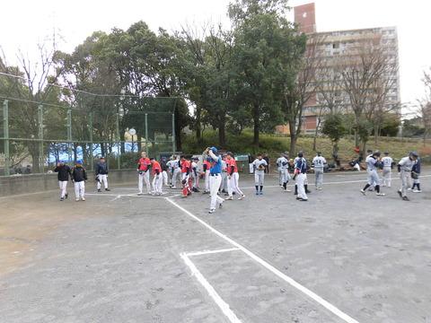若葉台リーグ-試合開始