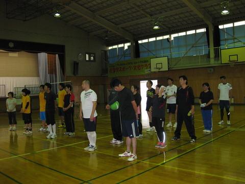 地域対抗ソフトバレーボール大会 (2)