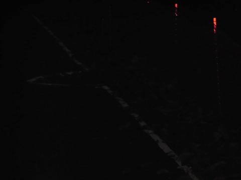 マラソン大会道路白線