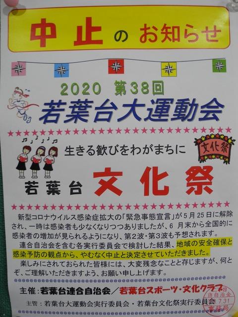 15運動会・文化祭の中止