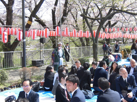 桜まつり、祭りの会