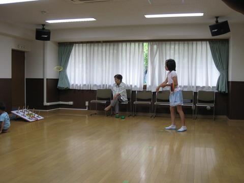 輪投げ練習 (2)