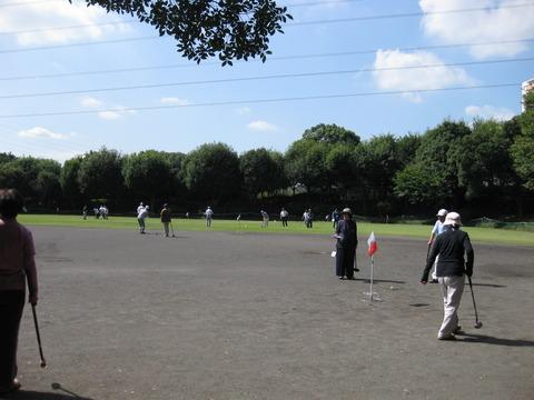 くぬぎ会グランドゴルフ大会(2)