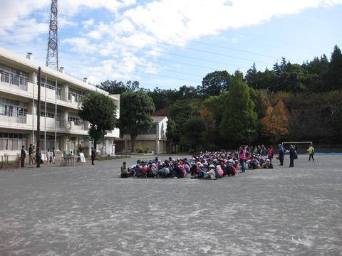 若葉台小学校秋の縦割り活動 (5)