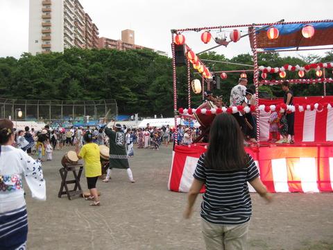 夏まつり盆踊り (3)