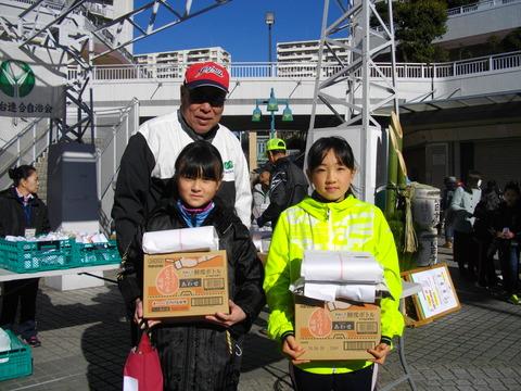 表彰式2Km小学生女子 (3)