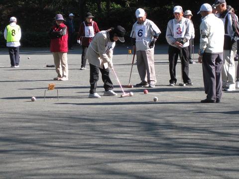 ゲートボール大会 (12)