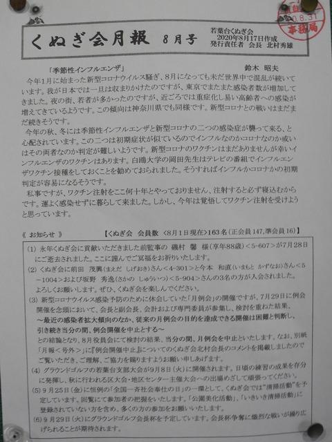 19くぬぎ会月報8月号