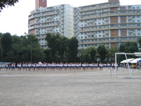 若葉台中学体育祭 (8)