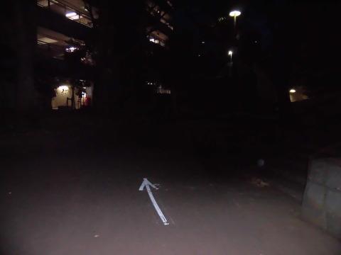 マラソン大会道路矢印 (3)