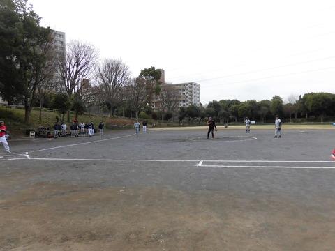 若葉台リーグ-始球式