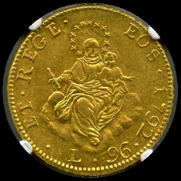 1792年 イタリア 96L ジェノア
