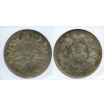 1781年銘 KR ドイツ ターラー銀...