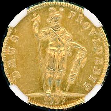 1797年 スイス 1/2DUP BERN FR-188