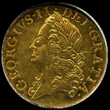 1750年 ジョージ2世1/2ギニー