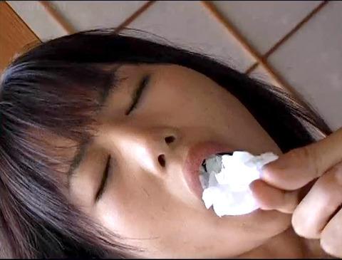 猿轡 口枷 をされる女 の 口拘束 AV エロ 画像 hoshidukimayura76