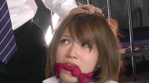 猿轡 口枷 をされる女 の 口拘束 AV エロ 画像 shiinasora131