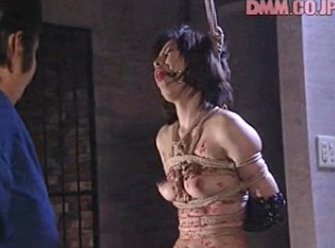 猿轡 口枷 をされる女 の 口拘束 AV エロ 画像 nakagawara18