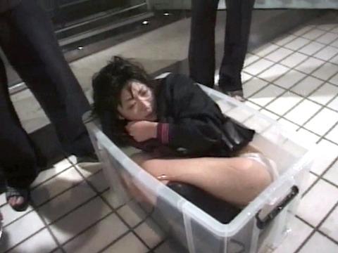 SM水責め調教/無理矢理水に沈められ拷問女エロAV画像kashimasaki05