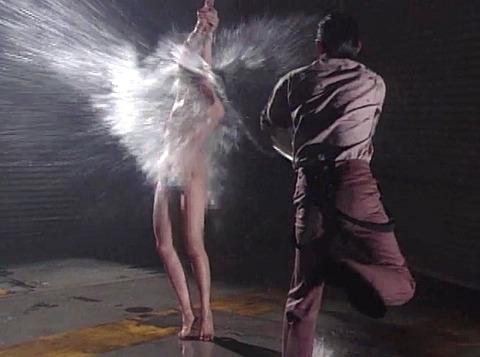 SM水責め調教/水責め拷問される女のエロAV画像_yazawayoko11
