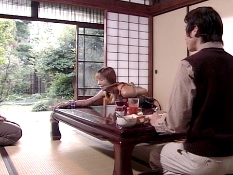 猿轡 口枷 をされる女 の 口拘束 AV エロ 画像 okazakimio09
