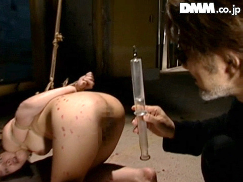排泄管理されて 浣腸される女 苦しむ女の AVエロ画像 iaoiageha10