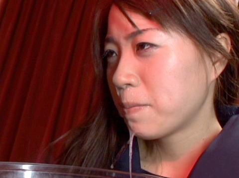 ビンタされる女 ビンタされる表情がエロい女のAV画像 hoshinom11