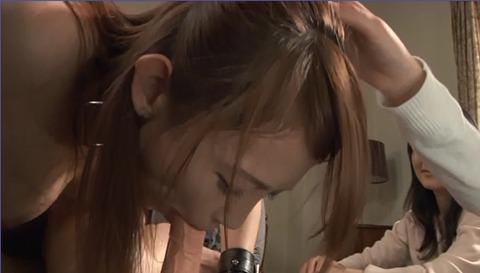 バイブフェラ画像/屈辱のバイブ舐め女のAVエロ画像konishiy38