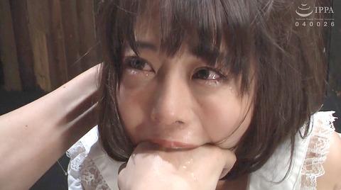 指フェラ画像/指イラマチオさせられる女のAVエロ画像_nanamiyua224
